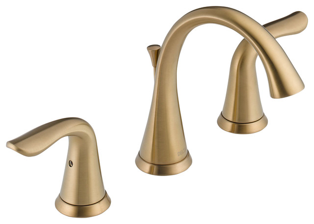 Delta Two Handle Widespread Lavatory Faucet 3538 CZMPU