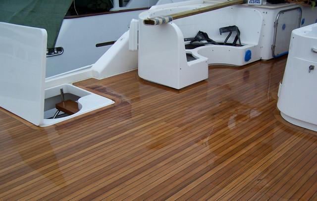 Teak Boat Decking - Traditional - Hardwood Flooring - Vancouver - by Ideal Teak Inc