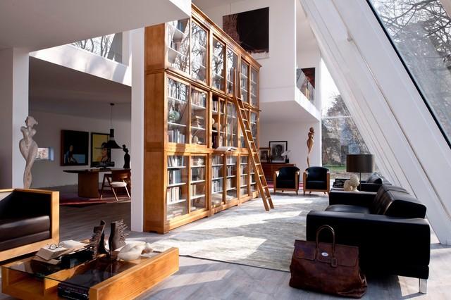 More than a bookcase living room inspiration for Morelato librerie