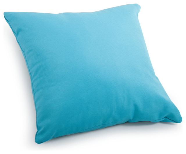 Large Blue Decorative Pillows : Laguna Large Pillow Sky Blue tropical-decorative-pillows