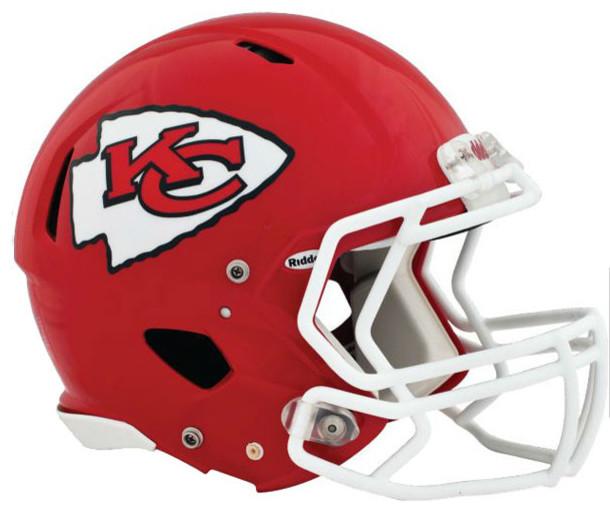 Nfl Kansas City Chiefs Teammate Helmet 3pc Sticker Decal