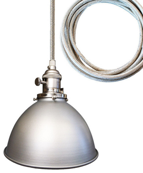 Metal Factory Industrial Stainless Steel Cord Pendant