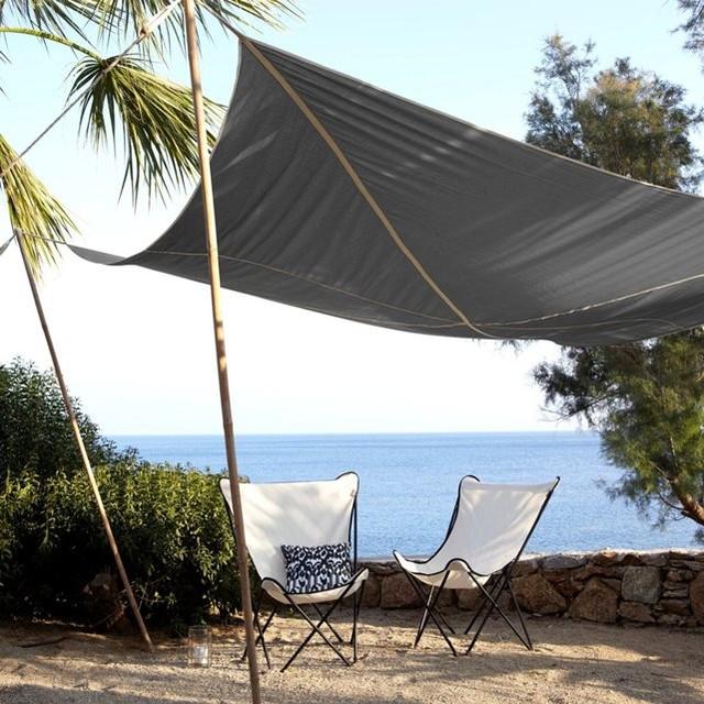 auvent toubou contemporain auvent et voile d 39 ombrage. Black Bedroom Furniture Sets. Home Design Ideas