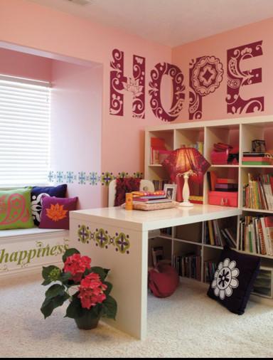 Teen Bedroom or Dorm Room Decor contemporary-wall-decals