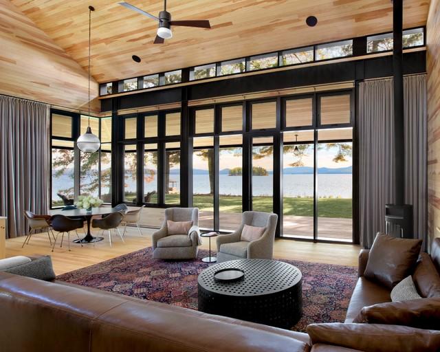 East coast family compound leed platinum craftsman for Room 4 design leeds
