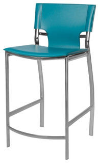 venice stool turquoise bar height 30 quot contemporary