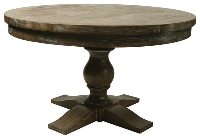 Pastel utopia 52 inch round wood top dining table contemporary dining tables by beyond stores - Inch round wood table top ...