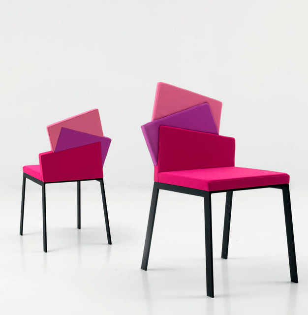 'Karina' Unique Upholstered Dining Chair By Compar