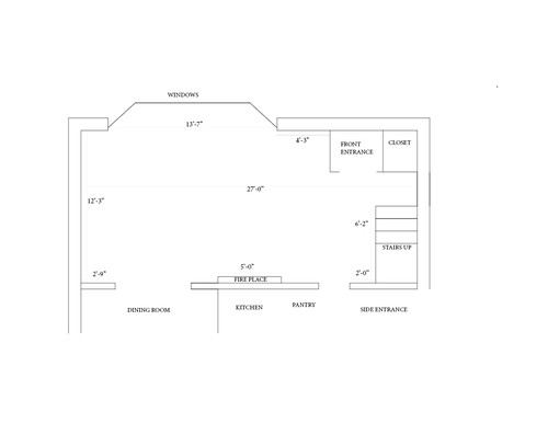 Difficult Living Room Floor Plan Please Help Me