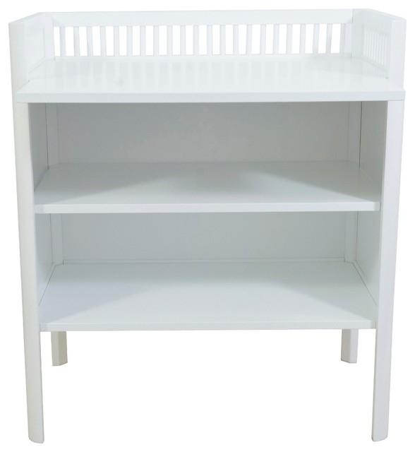 Sebra White Dresser