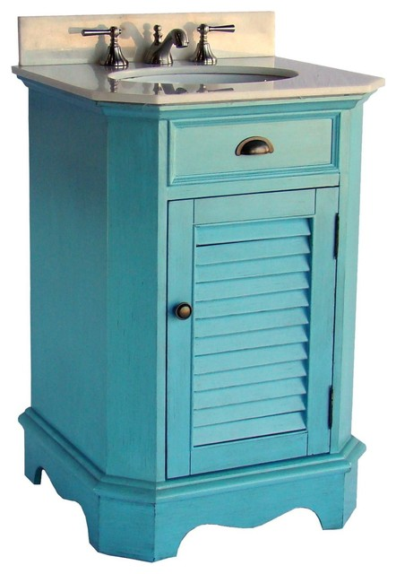 24 cottage style light blue abbeville bathroom sink - 24 inch farmhouse bathroom vanity ...
