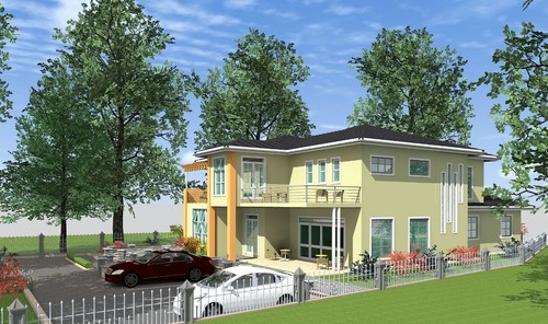 Front Elevation Of House Without Balcony : Elevation of house without balcony joy studio design