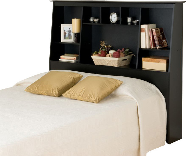 black queen headboard with storage 2