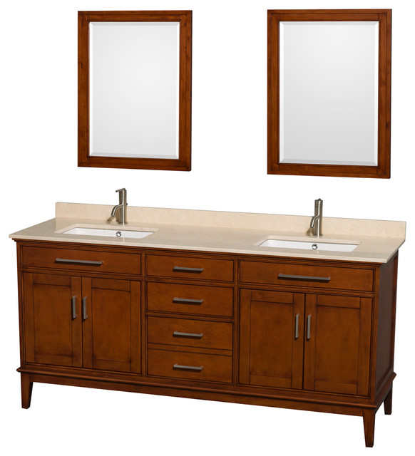 Square Sink Vanity : ... Square Sink - Transitional - Bathroom Vanities And Sink Consoles - by