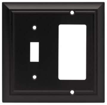 Liberty Hardware 64214 Architectural WP Collection 4.96 Inch Switch Plate - Modern - Switch ...