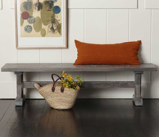 Trestle Bench eclectic furniture