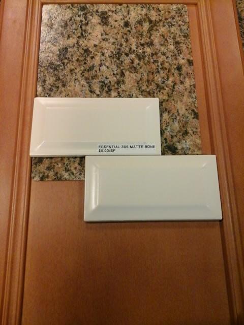 How to finish edges of subway tile backsplash