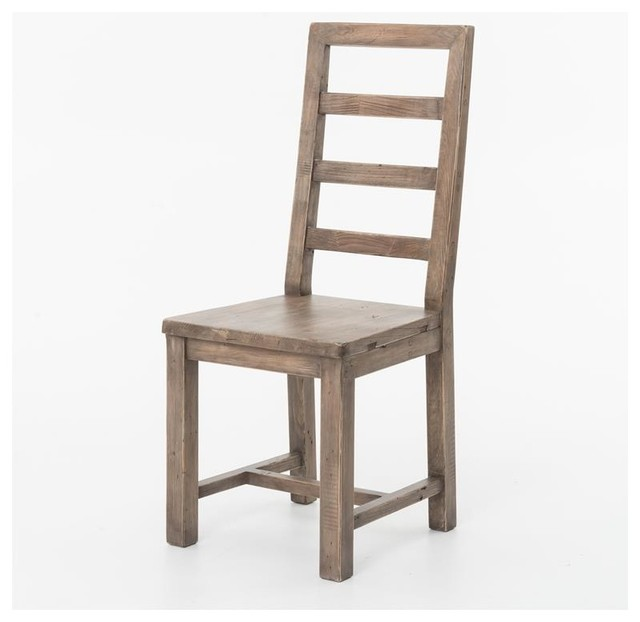 Four Hands Post Rail Dining Chair Sundried Ash