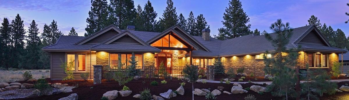 New Custom Home In Bend Oregon Broken Top Neighborhood