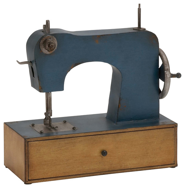 Metal Sewing Mach Decor - Modern - Sewing Machines - by Brimfield & May