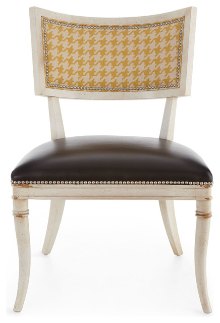 Calvin chair black yellow contemporary dining chairs for Modern yellow dining chairs