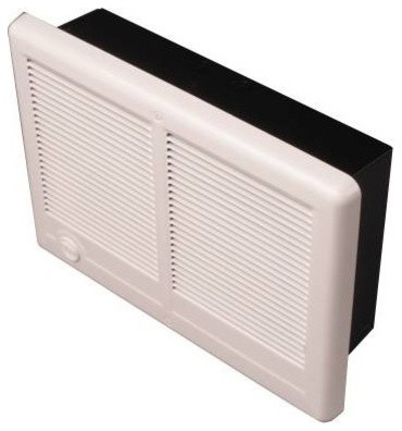 Com Pak Wall Heater With Thermostat 400w Transitional Bathroom Exhaust Fans By