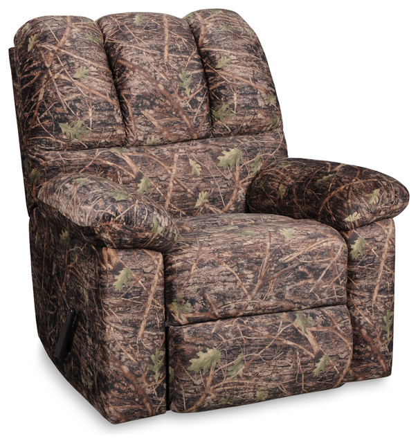Camo Lounge Chair: True Timber Camo Recliner