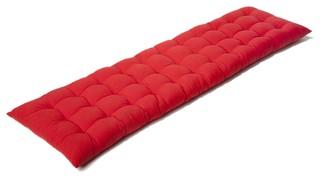 emotion coussin de banc futon rouge 120x32cm contemporain coussin de chaise par alin a. Black Bedroom Furniture Sets. Home Design Ideas