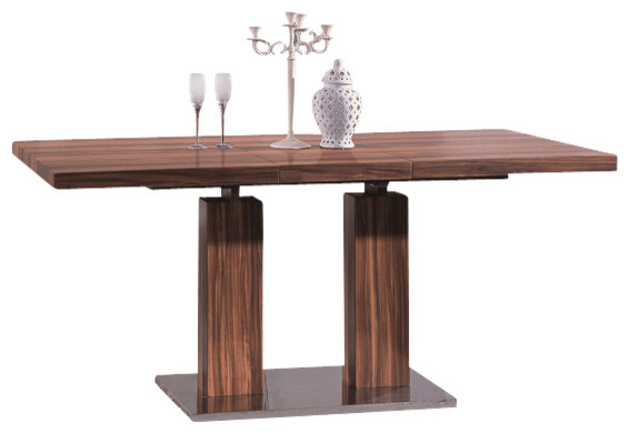 Expandable Veneer Dining Table modern-dining-tables