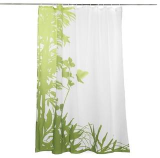 jungle bain rideau de douche campagne rideau de douche par alin a mobilier d co. Black Bedroom Furniture Sets. Home Design Ideas