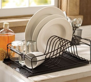 Cucina Dish Drying Rack Modern Dish Racks By Pottery