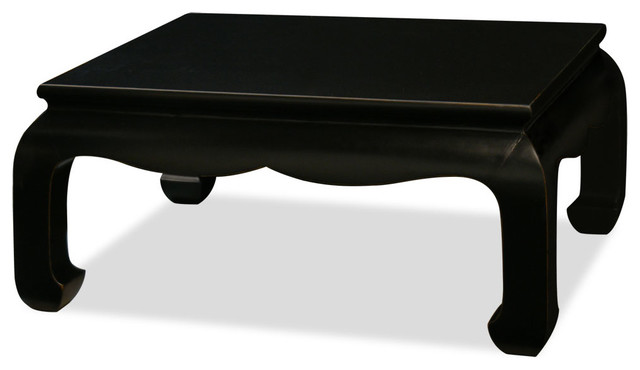 Elmwood rectangle cho coffee table asian coffee tables for Asian furniture westmont il