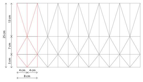 un abat jour en origami tendance r aliser vous m me. Black Bedroom Furniture Sets. Home Design Ideas