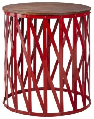 red end table target 1