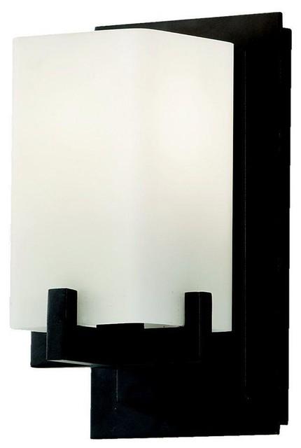 murray feiss lighting vs18401 orb riva one light bath vanity. Black Bedroom Furniture Sets. Home Design Ideas