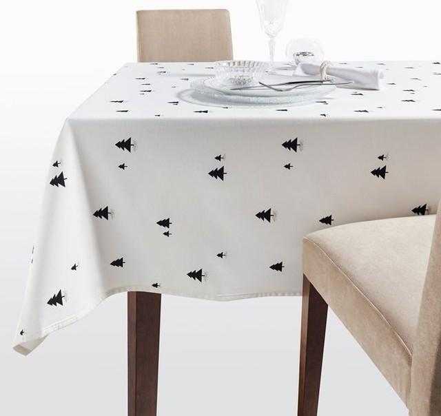 nappe noel scandinave contemporain nappe par la redoute int rieurs. Black Bedroom Furniture Sets. Home Design Ideas