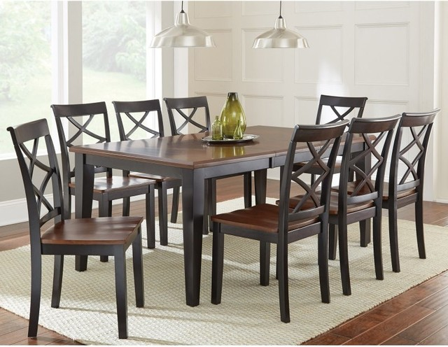 piece dining table set ssc2445 contemporary dining sets by