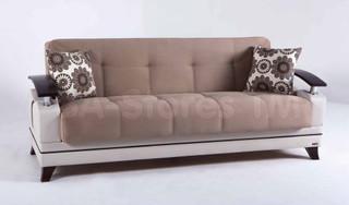 Rodos Daisy L Brown Sofa Sleeper