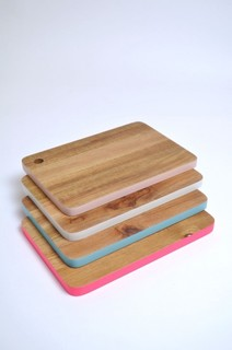 Color Edge Chopping Board Contemporary Chopping Boards