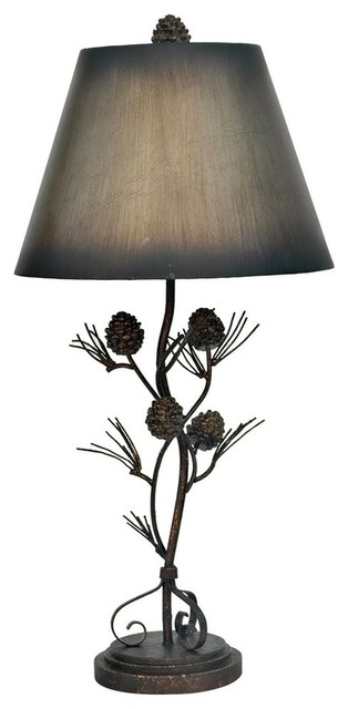 Crestview Collection Iron Twig Traditional Table Lamp Rustic Table Lamps By Alinda Morris