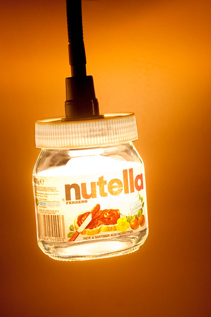 Id e originale lampe de chevet th matique chocolat industriel other metro - Lampe de chevet chocolat ...