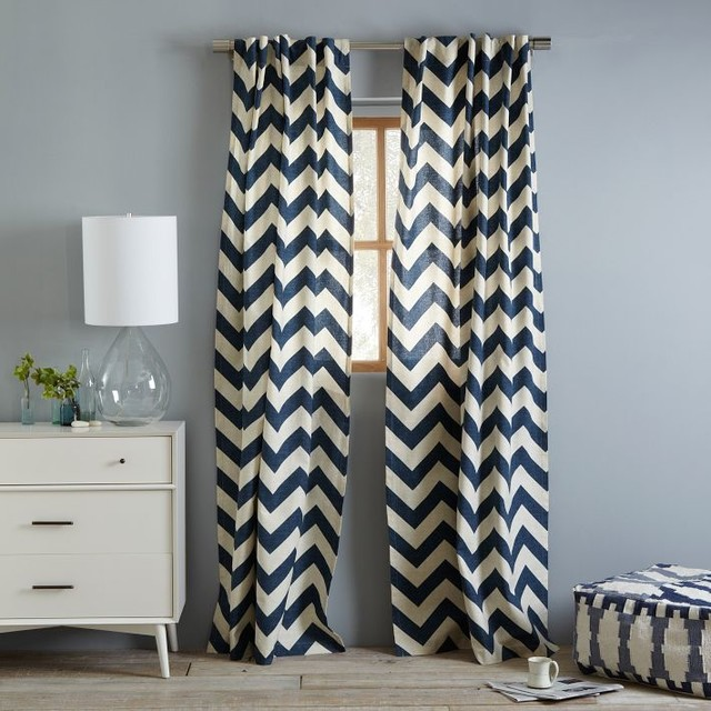 Grey And White Chevron Bedroom Curtains - Best Curtains 2017