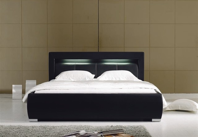 Etonnant Modern Black Bed Frame Images