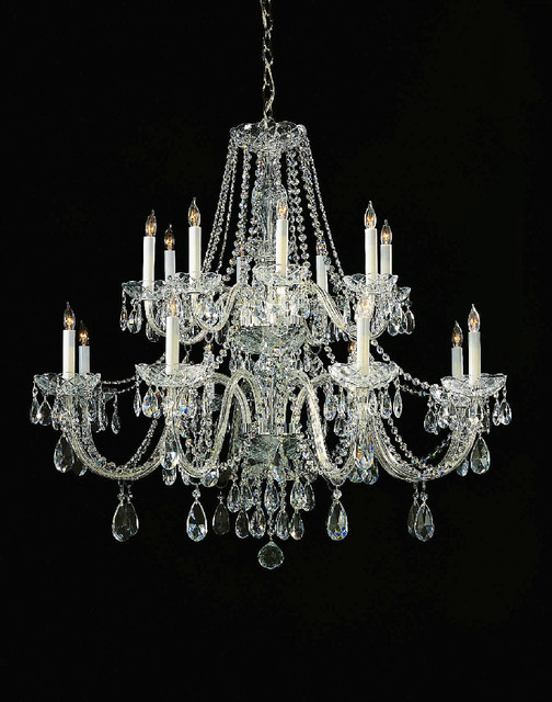 Crystorama 1139 traditional crystal eight light chandelier traditional chandeliers by - Traditional crystal chandeliers ...
