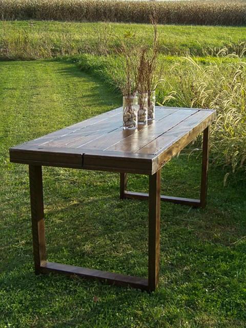 Contemporary barn table farmhouse dining tables for 65 farmhouse table