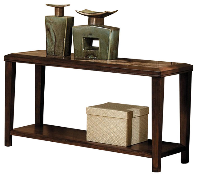Belvedere 48 in sofa table transitional console tables for 48 inch sofa table