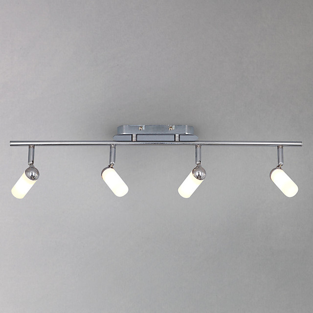 riva 4 bathroom spotlight ceiling bar modern track