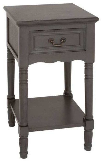 Smart Bedside Table: Brighton Exclusive Smart Wood Night Stand
