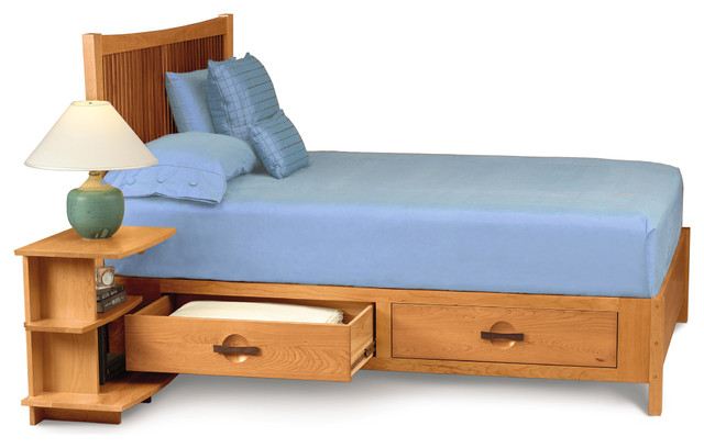 wooden beds with drawers 3