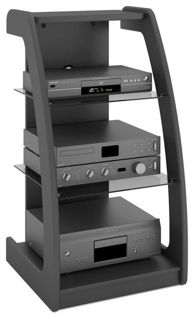 Sonax ML-1220 Milan Midnight Black 21-inch Component Stand ...
